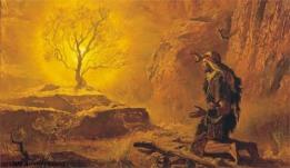 Moses-and-burning-bush